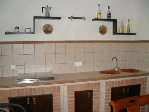 Cocina rustica de obra cocinas rusticas with cocina for Cocinas rusticas de obra